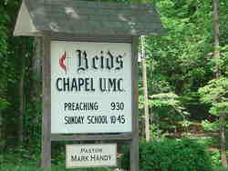 Reids Chapel United Methodist Church Cemetery
