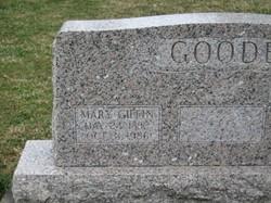 Mary E <I>Giffin</I> Goode