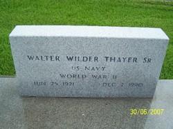 Walter Wilder Thayer, Sr