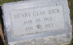 Henry Clay Dick