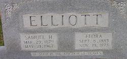 Flora Alice <I>Hines</I> Elliott