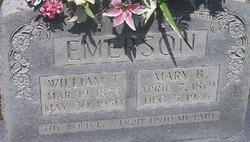 Mary Bell <I>Godbey</I> Emerson