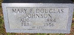 Mary Frances <I>York</I> Douglas Johnson