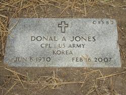 Donal Archie Jones