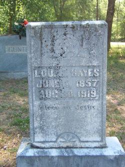 Lou H Hayes
