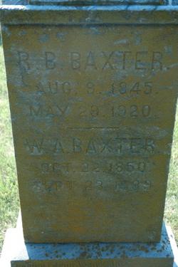 R. B. Baxter