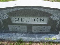 Sadie <I>Jones</I> Melton