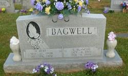 Ella Blanche <I>Hackler</I> Bagwell