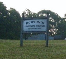 Burton's Community Cemetery