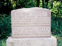 Rev Reuben A. Coffey
