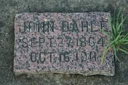 John Anderson Dahle