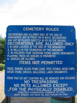 Plover Cemetery
