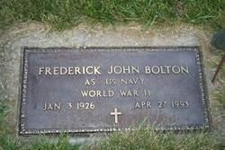 "Frederick John ""Fritz"" Bolton"