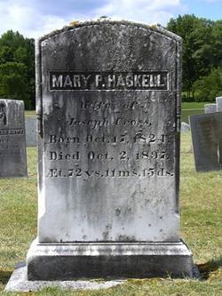 Mary P. <I>Haskell</I> Cross