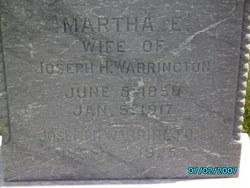Martha E Warrington