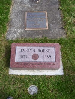 Evelyn Cecilia <I>Sales</I> Boeke
