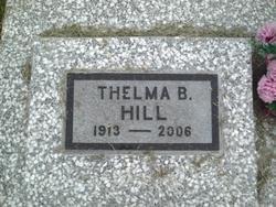 Thelma Bernice <I>Strader</I> Hill