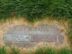 Alice M. Baker
