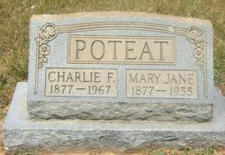 Mary Jane <I>Dixon</I> Poteat