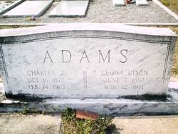 Leona <I>Dixon</I> Adams