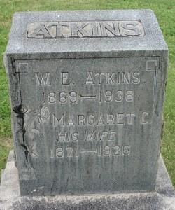 Margaret C. <I>Shumate</I> Atkins