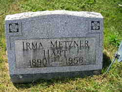 Irma <I>Metzner</I> Hart