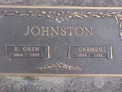 Elmer Oren Johnston