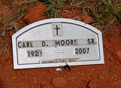 Pvt Carl Daniel Moore