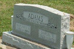Margaret E <I>Danielson</I> Adams