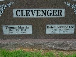 Helen Loraine <I>Lee</I> Clevenger