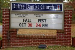 Duffee Baptist Church Cemetery