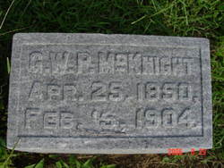 George Washington Paul McKnight, Sr