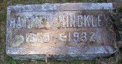 Hattie M. <I>DeLong</I> Hinckley
