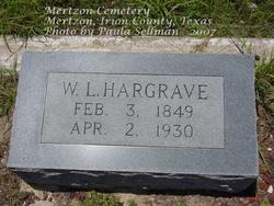 William L Hargrave