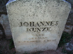 Corp Johannes Reinhold Johannes Kunze