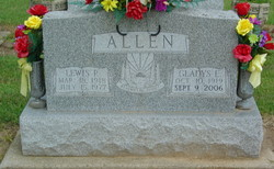 Gladys Elaine <I>Cole</I> Allen