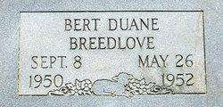 Bert Duane Breedlove