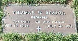 Capt Thomas Wilbur Reasor