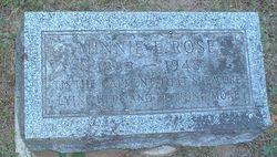 Minnie E. <I>Worden</I> Rose