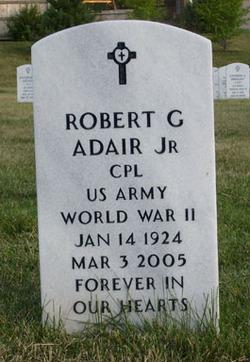 Robert G Adair, Jr