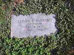 Esther P <I>Hummer</I> Barnard