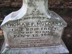 Thomas F Mulcahy