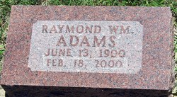Raymond William Adams