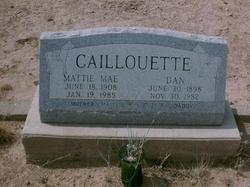 Mattie Mae <I>Baker</I> Caillouette