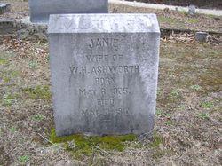 Janie <I>Edge</I> Ashworth