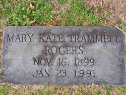 Mary Kate Trammell Rogers
