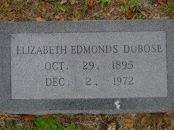 Mary Elizabeth <I>Edmonds</I> DuBose