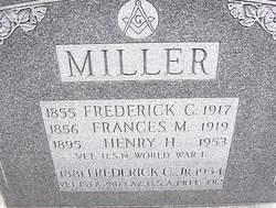 Frederick C Miller, Jr