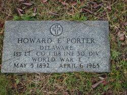 Howard E Porter