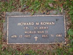 Howard M Rowan